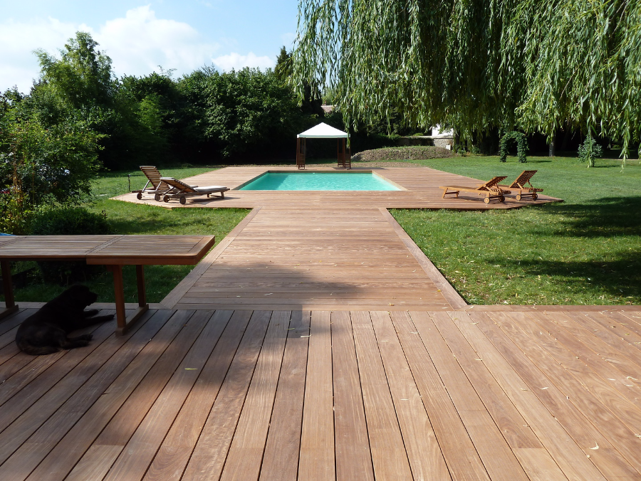 Corsenett nettoyage et d grisage terrasse en bois for Nettoyage maison exterieur
